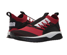 PUMA Men's Tsugi Jun Sneaker | Red Dahlia Black White | 13 M US