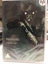 NOSFERATU (1922) - R2 DVD - New & Sealed