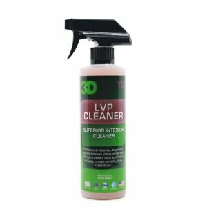 3D Car Care LVP All In One Leather Vinyl & Plastic Interior Cleaner Spray 470ML