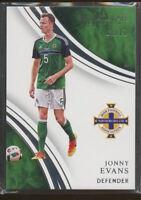 2018-19 Immaculate Soccer JONNY EVANS 62/75 #59