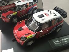 "CARRERA EVOLUTION 27405 Mini Countryman WRC DANIEL SORDO "" N° 37"" 2012 emb.orig"