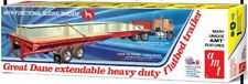AMT 1/25 Great Dane Extendable Heavy Duty Flatbed Trailer AMT1111-NEW