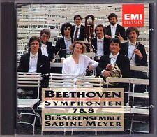 Sabine Meyer: Beethoven Symphony No. 7 & 8 ARR For Winds CD Joan Barcons fagotto