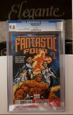 Fantastic Four #1 (2013, Marvel) 1st Print CGC 9.8 Matt Fraction