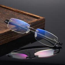 TR90 Rimless Anti Blue Ray Reading Glasses for Women Men reader +1.0 to +4.0
