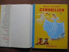 CENDRILLON  (1953) dessins de Walt DISNEY
