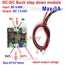 3A DC-DC Buck Step Down Module Voltage Converter 5V~36V to 3.3V 5V 6V 9V 12V 24V