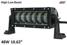 "10.62"" High Low Beam Led Light Bar Work Recovery Lamp Pickup Truck 4x4 Bullbar"