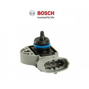 For Volvo S60 S80 V70 XC70 XC90 Fuel Pressure Sensor-on Fuel Rail BOSCH 31272730