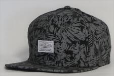 Vans Off The Wall Fiji SB Mens Black Gray 100% Cotton Snapback Hat New NWT