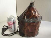Civil War Era Copper Canteen Cone Top as is