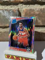 2018-19 Panini Donruss Optic Rated Rookie Troy Brown Jr Shock Prizm Rc