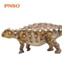 PNSO Ankylosaurus Model Ankylosaur Figure Dinosaur Decor Collector Kid Gift Toys