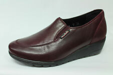 Loafers Mephisto Mobils Ergonomic Bertrane Leather Burgundy List Price - 20%