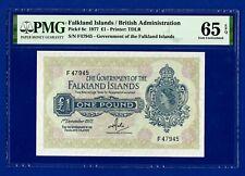 FALKLAND ISLANDS £1 note 1/12/1977.PMG, Gem UNC EPQ.