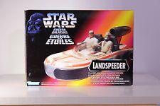 Star Wars Kenner tri logo Luke Skywalker Landspeeder MIB vaisseau POTF figurine