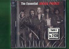 JUDAS PRIEST  - THE ESSENTIAL DOPPIO CD NUOVO SIGILLATO