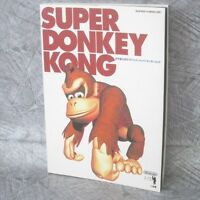 SUPER DONKEY KONG Official Guide SFC Book SG13*