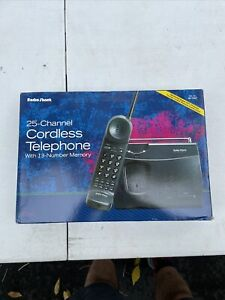 Radio Shack (43-1057) 25-channel  Cordless Telephone with 13-number  New !!