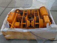 Chester Worm Drive Hoist 1 Ton Model Flg.0100S New