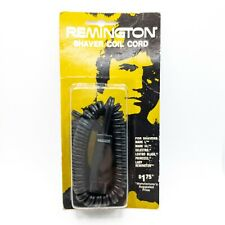 Replacement Remington Shaver Coil Cord Mark 1, Mark 3, Lady Remington NOS 1973