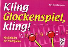 Glockenspiel Noten Schule : Kling Glockenspiel kling ANFÄNGER  sehr leicht