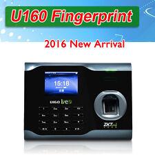 Zksoftware U160 Biometric Anti-fake Fingerprint Time Attendance Time Clock WIFI