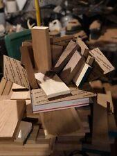 Hardwood lumber Cutoffs Walnut Oak Maple Ash Etc Figured  wood crafts turning