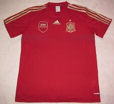 Spain 2014 World Cup Red Home adidas Jersey Men M 2010 Campeones