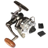 Goture Mini Ice Fishing Reel Metal Coil Ultra Light Small Spinning Reel 4.3:1