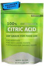 Ácido Cítrico Puro Orgánico Natural Kosher De Grado Alimenticio Sin Aditivos