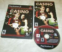 High Rollers Casino for Playstation 2 Complete Fast Shipping!