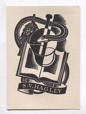 Ex Libris by Jordan for Hagley