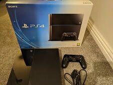 Sony PlayStation 4 Slim 500GB Console - Matte Black