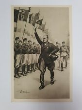 Vintage Italian postcard 'The Duke magazine' - LA RIVISTA DEL DUCE