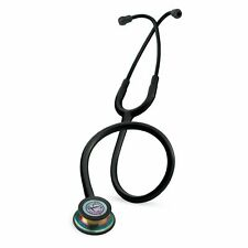 Stethoscope Black Littmann Classic III with Rainbow Finish Chestpiece