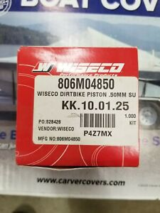 2002-2018 Wiseco Suzuki RM85 RACER ELITE Piston Kit 50mm Bore 2mm Over