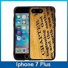 Holy Bible In The Beginning For Iphone 7 Plus & Iphone 8 Plus (5.5) Case