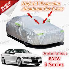 Premium Waterproof Aluminum Car Cover Medium Size BMW 3 Series 320i 325i 335 318