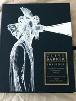 Signed Deluxe Clamshell Edition Clive Barker's Imaginer Vol 1 Numbered 53/100