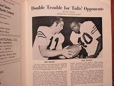 1971  Tufts  University Football  Program(KEN  WILSON/PETE  WATSON/ROCKY  CARZO)