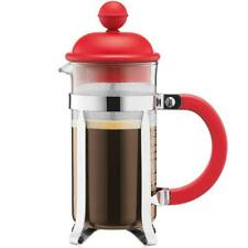 Bodum Caffettiera French Press Coffee Maker - Red - 0.35 Litres - 3 Cup Capacity