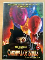 Carnival of Souls DVD 1998 Wes Craven's Cult Horror Film Movie Remake