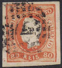 Portugal 1866 80a King Louis II sg 43 used