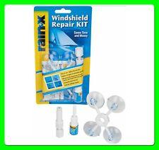Rain X Windscreen Repair Kit [600001] Fixes Chips Bull's Eyes & Cracks
