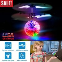Toys for Boys Flying Ball LED 3 4 5 6 7 8 9 10 11Year Old Age Xmas Boy Cool Gift