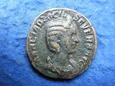 Otacilia Severa, esposa de Felipe I: sestercios, Rev Concord-moneda Escasa!