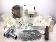Vintage Bosch UM4 Food Processor w Many Attachments Germany Read Description