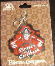Disney Pirates of the Caribbean- Lanyard Medal- New on Original Card