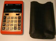 Vintage Toshiba Bc-1010Bj Calculator and Blackjack Game